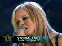 Storm Large Video Cryin