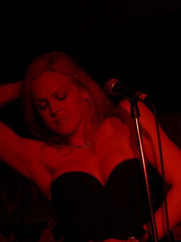 Storm Large Red Hot!